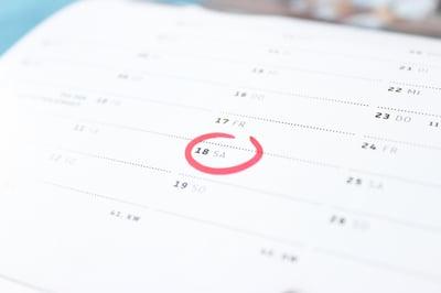 forgotten appointment schedule