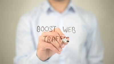 drives website traffic