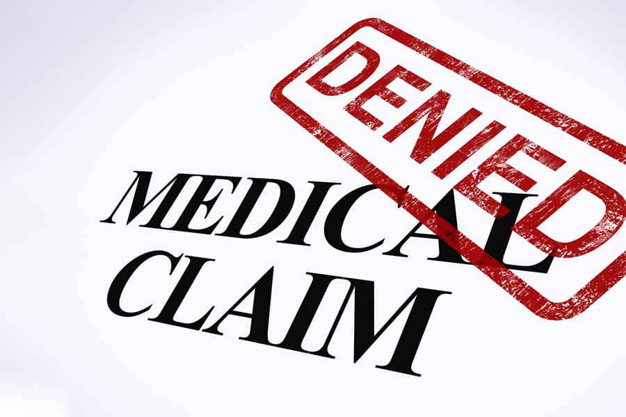 denied medical claim